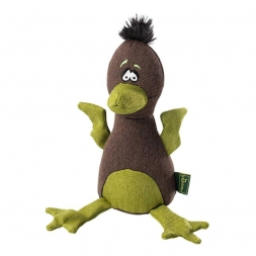 Hunter Spielzeug Canvas Bird braun/grün 20cm