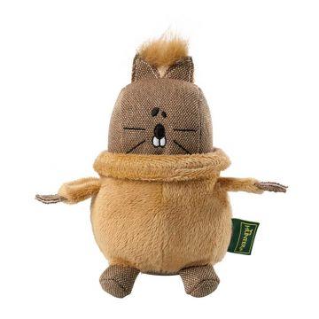 Hunter Hundespielzeug T- Neck Squirrel Braun 14 cm