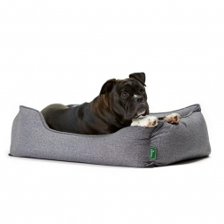 Hunter Hundesofa Boston grau S 60 x 50 cm