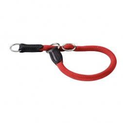 Hunter Dressurhalsung Freestyle 40 cm / 8 mm rot
