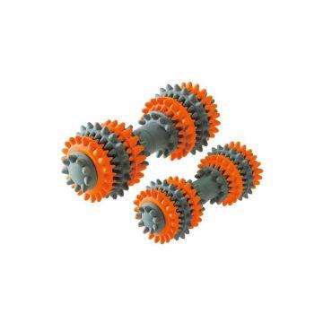 Hunter Hundespielzeug Tooth Cleaner L orange/grau 18 cm
