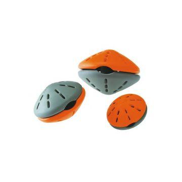 Hunter Hundespielzeug Snack Roller Gr.M orange/grau
