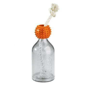 Hunter Hundespielzeug Snack Bottle M Orange