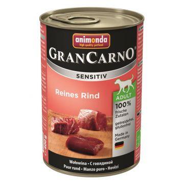 Animonda GranCarno Adult Sensitive Rind pur 400g (Menge: 6 je Bestelleinheit)