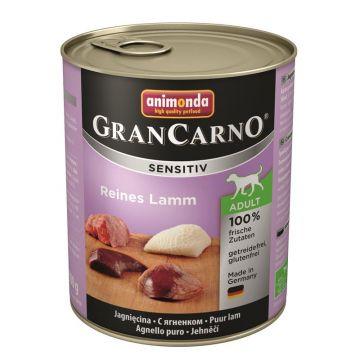 Animonda GranCarno Adult Sensitive Lamm pur 800g (Menge: 6 je Bestelleinheit)