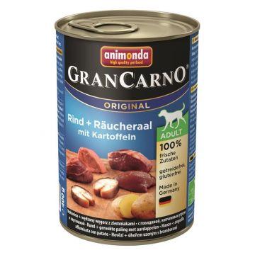 Animonda GranCarno Adult Räucheraal & Karotten 400g (Menge: 6 je Bestelleinheit)