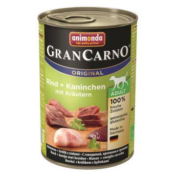 Animonda GranCarno Adult Kaninchen & Kräuter 400g (Menge: 6 je Bestelleinheit)