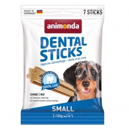 Animonda Dog Snack Dental Sticks Small 7 Stk. 110 g (Menge: 20 je Bestelleinheit)