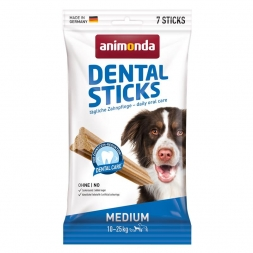 Animonda Dog Snack Dental Sticks Medium 7 Stk. 180 g (Menge: 18 je Bestelleinheit)