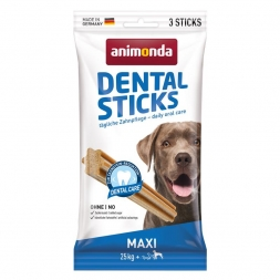 Animonda Dog Snack Dental Sticks Maxi 3 Stk. 165 g (Menge: 18 je Bestelleinheit)