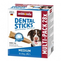 Animonda Dog Snack Dental Sticks Medium 28 Stk. 4x180 g Multipack (Menge: 8 je Bestelleinheit)