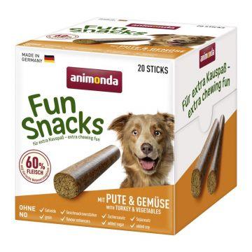 Animona Dog Fun Snacks mit Pute+Gemüse 20 Sticks
