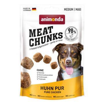 Animonda Dog Snack Meat Chunks Huhn pur 80g (Menge: 12 je Bestelleinheit)