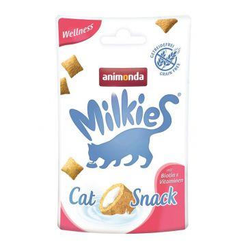 Animonda Snack Milkie Wellness mit Biotin & Vitaminen 30g (Menge: 12 je Bestelleinheit)