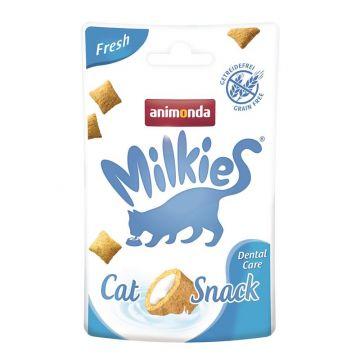 Animonda Snack Milkie Fresh Dental Care 30g (Menge: 12 je Bestelleinheit)