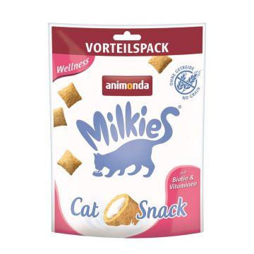 Animonda Snack Milkie Knusperkissen Wellness 120g (Menge: 6 je Bestelleinheit)