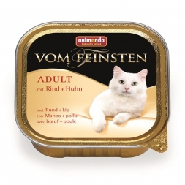 Animonda vom Feinsten Adult mit Rind & Huhn100g (Menge: 32 je Bestelleinheit)