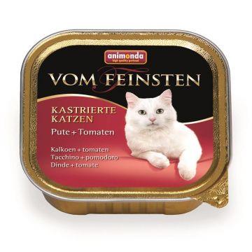 Animonda vom Feinsten für kastrierte Katzen mit Pute & Tomate 100g (Menge: 32 je Bestelleinheit)