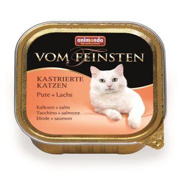 Animonda vom Feinsten für kastrierte Katzen mit Pute & Lachs 100g (Menge: 32 je Bestelleinheit)