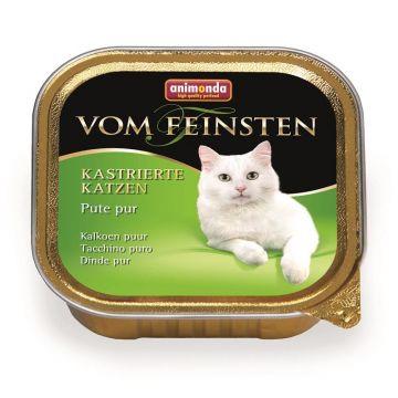 Animonda vom Feinsten für kastrierte Katzen Pute pur 100g (Menge: 32 je Bestelleinheit)