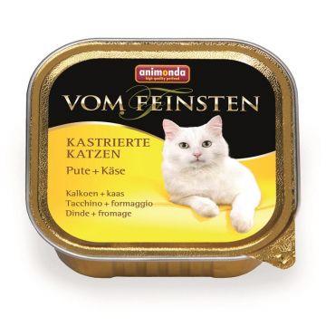 Animonda vom Feinsten für kastrierte Katzen Pute & Käse 100g (Menge: 32 je Bestelleinheit)