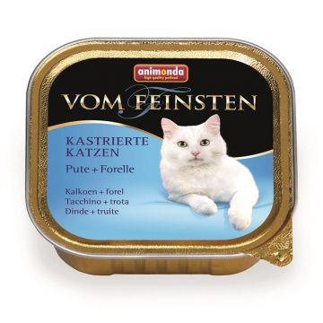 Animonda vom Feinsten für kastrierte Katzen Pute & Forelle 100g (Menge: 32 je Bestelleinheit)