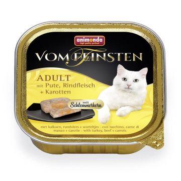 Animonda vom Feinsten mit Schlemmerkern mit Pute, Rindfleisch & Karotten 100g (Menge: 32 je Bestelleinheit)