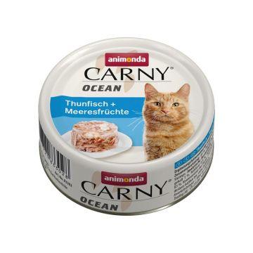 Animonda Carny Ocean Thunfisch & Meeresfrüchte 80g (Menge: 12 je Bestelleinheit)