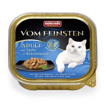 Animonda vom Feinsten mit Lachs in Kräutersauce 100g (Menge: 32 je Bestelleinheit)