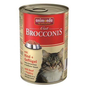 Animonda Brocconis Rind & Geflügel 400g (Menge: 12 je Bestelleinheit)