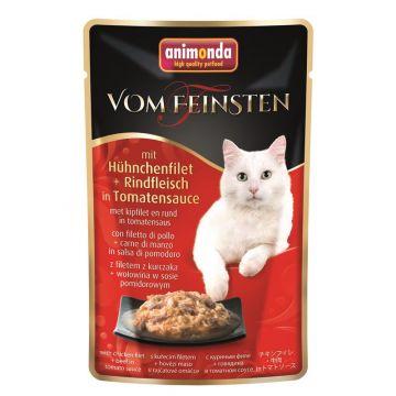 Animonda vom Feinsten mit Hühnchenfilet & Rindfleisch in Tomatensauce 50g (Menge: 18 je Bestelleinheit)