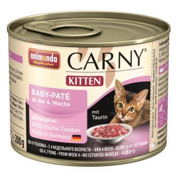 Animonda Carny Kitten Baby-Paté 200g (Menge: 6 je Bestelleinheit)