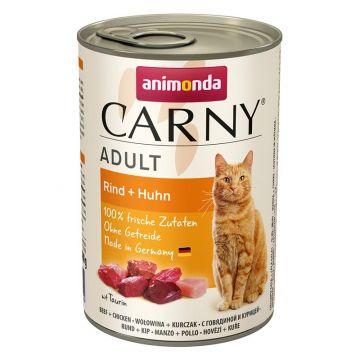 Animonda Carny Adult Rind & Huhn 400g (Menge: 6 je Bestelleinheit)