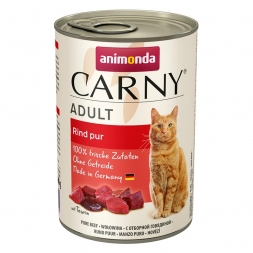 Animonda Carny Adult Rind pur 400g (Menge: 6 je Bestelleinheit)
