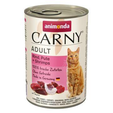 Animonda Carny Adult Rind & Pute & Shrimps 400g (Menge: 6 je Bestelleinheit)