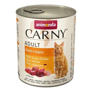Animonda Carny Adult Rind & Huhn 800g (Menge: 6 je Bestelleinheit)