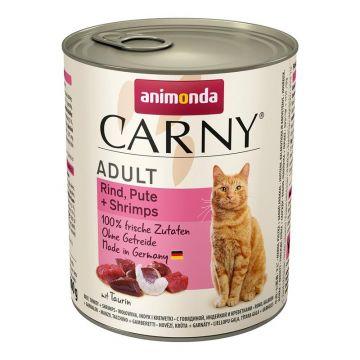 Animonda Carny Adult Rind Pute & Shrimps. 800g (Menge: 6 je Bestelleinheit)