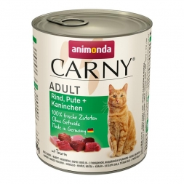 Animonda Carny Adult Rind Pute & Kaninchen 800g (Menge: 6 je Bestelleinheit)
