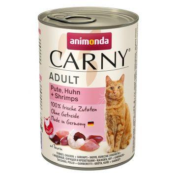 Animonda Cat Dose Carny Adult Pute & Huhn & Shrimps 400g (Menge: 6 je Bestelleinheit)