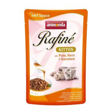 Animonda PB Rafine Kitten Pute & Herz 100g (Menge: 12 je Bestelleinheit)