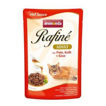 Animonda PB Rafine Soupe Pute, Kalb & Käse 100g (Menge: 12 je Bestelleinheit)