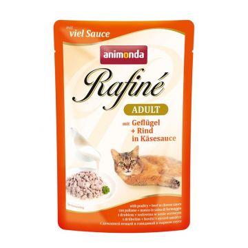 Animonda PB Rafine Geflügel & Rind in Käsensauce 100g (Menge: 12 je Bestelleinheit)