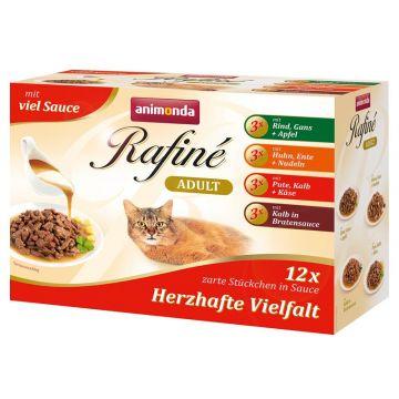 Animonda PB Rafine Soupe im Multipack 12 x 100g (Menge: 4 je Bestelleinheit)