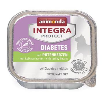 Animonda Integra Protect Diabetes mit Putenherzen 100g (Menge: 16 je Bestelleinheit)