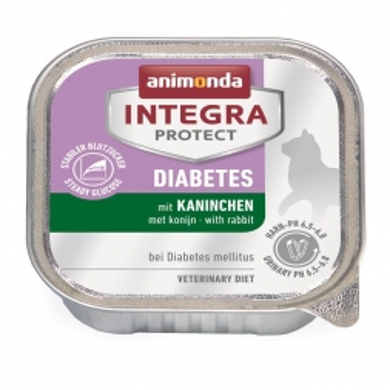 Animonda Integra Protect Diabetes mit Kaninchen 100g (Menge: 16 je Bestelleinheit)