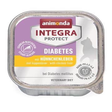 Animonda Integra Protect Diabetes mit Hühnchenleber 100g (Menge: 16 je Bestelleinheit)