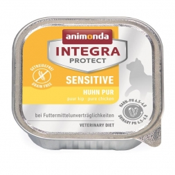 Animonda Integra Protect Sensitiv mit Huhn pur 100g (Menge: 16 je Bestelleinheit)