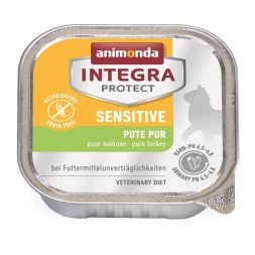 Animonda Integra Protect Sensitiv mit Pute pur 100g (Menge: 16 je Bestelleinheit)