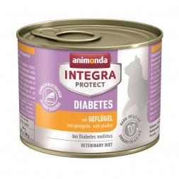 Animonda Integra Protect Diabetes mit Geflügel 200g (Menge: 6 je Bestelleinheit)
