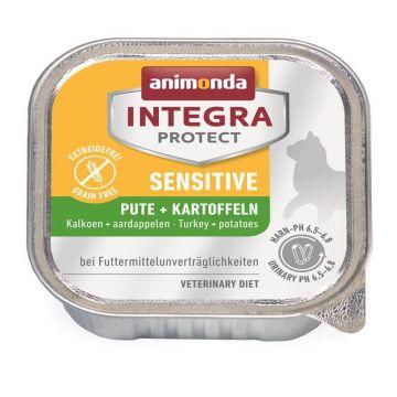 Animonda Integra Protect Sensitiv mit Pute & Kartoffeln 100g (Menge: 16 je Bestelleinheit)